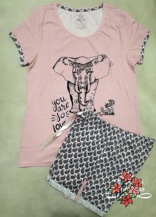 Комплект футболка шорты1