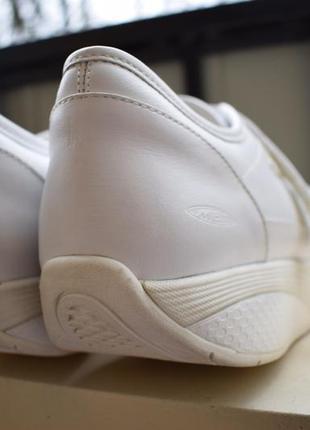 Кожаные туфли мокасины кроссовки на липучках высокая подошва8
