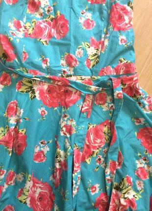 Очень красивое платье котон с индии2
