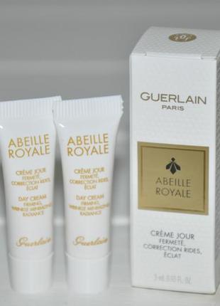 Дневной крем для лица guerlain abeille royale day cream (мини) объем 3мл1