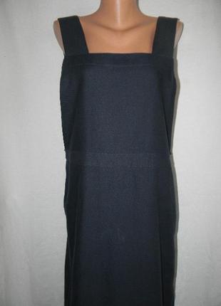 Новое шерстяное платье сарафан toast3