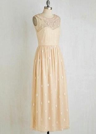 Новое свадебное вечернее выпускное платье в пол с открытой спиной rise1