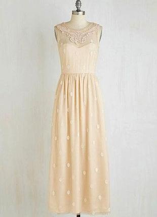 Новое свадебное вечернее выпускное платье в пол с открытой спиной rise2