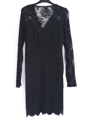 Великолепное кружевное платье river island  • р-р 12\38 - m-l, ближе к l4