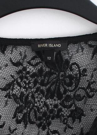 Великолепное кружевное платье river island  • р-р 12\38 - m-l, ближе к l6