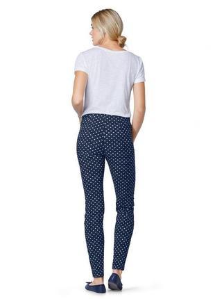 Эластичные брюки до щиколотки тсм tchibo германия, размер 46 европ, 52 наш3