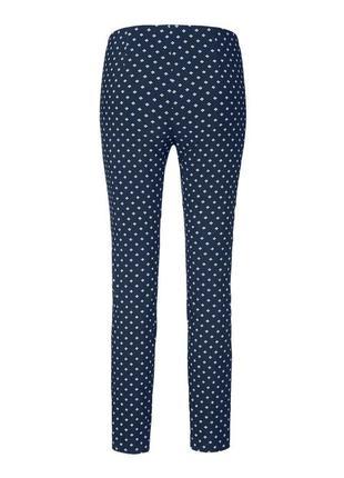 Эластичные брюки до щиколотки тсм tchibo германия, размер 46 европ, 52 наш5