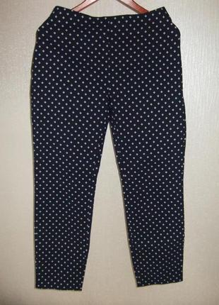 Эластичные брюки до щиколотки тсм tchibo германия, размер 46 европ, 52 наш9