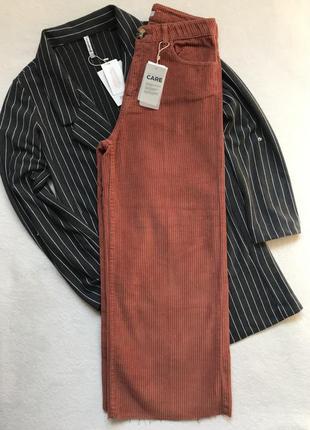 Кюлоти брюки штани кюлоты вільвєтові stradivarius1