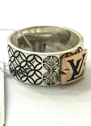 Новое серебряное кольцо позолота эмаль куб.цирконий серебро 925 пробы2