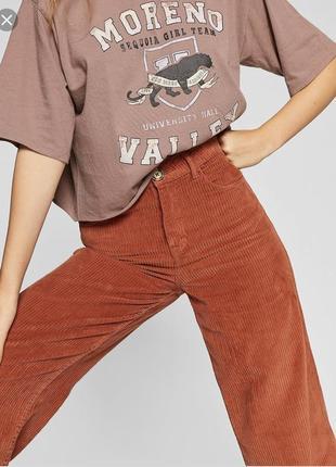Кюлоти брюки штани кюлоты вільвєтові stradivarius3