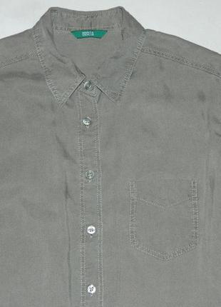 Рубашка цвета хаки2