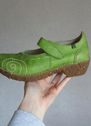 Р.37 el naturalista (оригинал) кожаные туфли.3