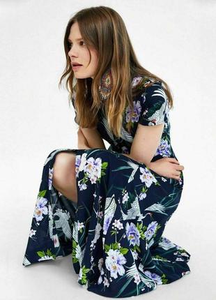 Очень красивое платье макси zara6 фото