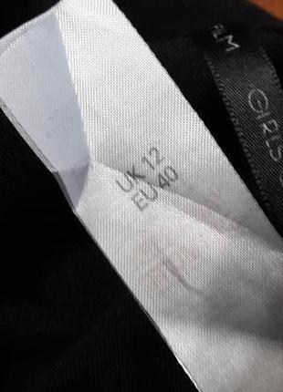 Черные мини шорты-юбка по типу zara5