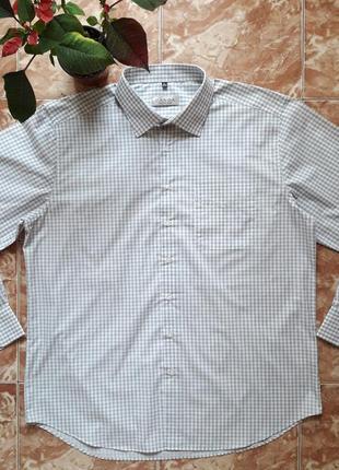 Немецкая рубашка в клетку , полномерный xl.