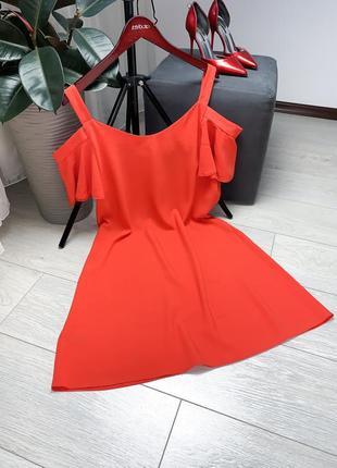 Червона сукня george вільного фасону1