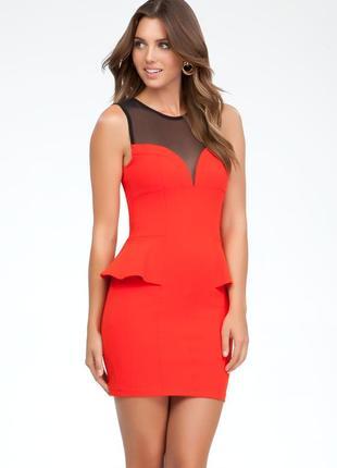 Стильное платье 52-54 размер1