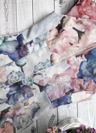 Цветочное платье, с цветочным принтом, с акварельным принтом, нарядное4