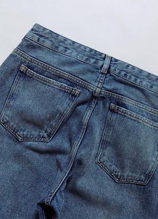Новые джинсы с вышивкой mango, размер 12 (см. замеры)9