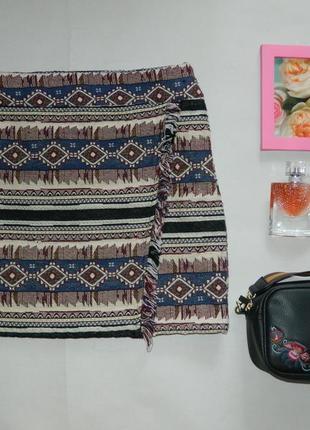 Стильная юбка в этническиом стиле1