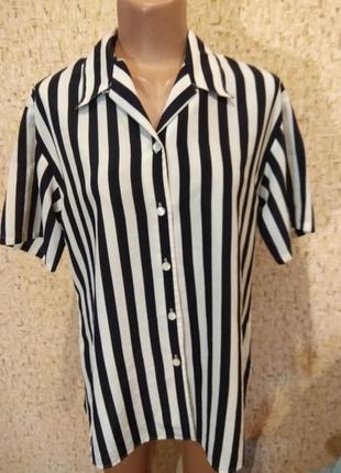 Стильная рубашка 48-50 размер1
