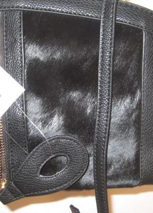Женские клатч с натуральным с мехом пони3