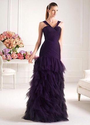 Вечернее платье фирмы pronovias1