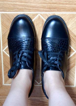 Модные туфли на весну2