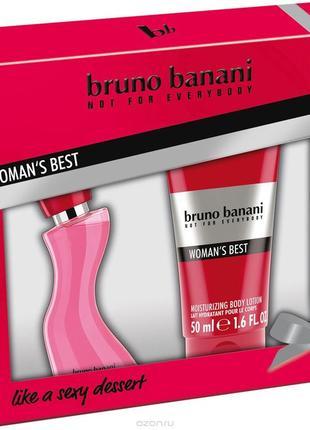 Bruno banani womans best| набор парфюмерный туалетная вода 20 мл + лосьон для тела 50 мл1 фото