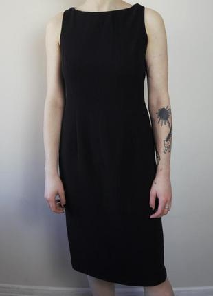 Черное классическое платье wallis для офиса