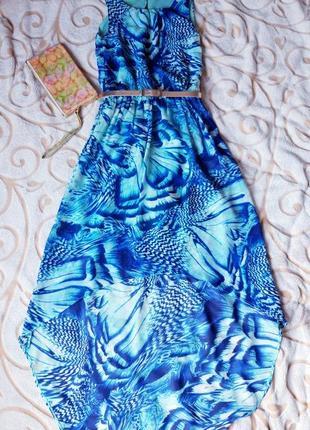 Платье с красивой расцветкой1
