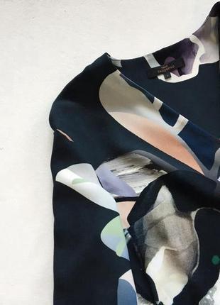 Вкрасивое стильное платье в цветочный принт3