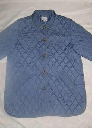 L 48-50 женская стильная демисезонная весенняя стеганая куртка4