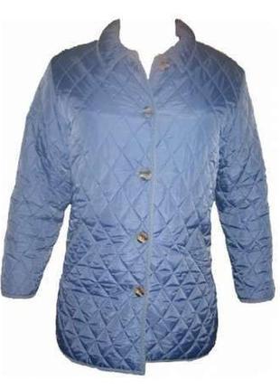 L 48-50 женская стильная демисезонная весенняя стеганая куртка2