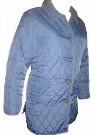 L 48-50 женская стильная демисезонная весенняя стеганая куртка1