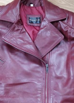 Женская кожаная куртка4
