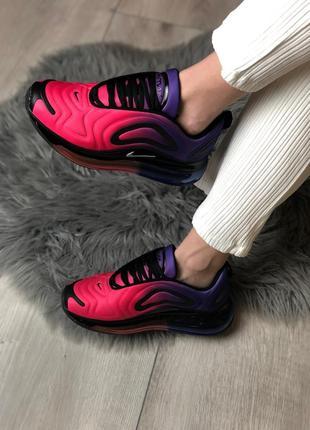 Шикарные женские кроссовки nike air max 720 pink / violet 😍 (весна/ лето/ осень)4