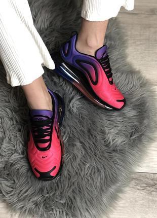Шикарные женские кроссовки nike air max 720 pink / violet 😍 (весна/ лето/ осень)5