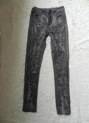 ✅крутые джинсы рванки