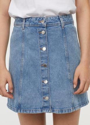 Крутейшая джинсовая юбка1