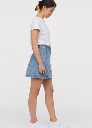 Крутейшая джинсовая юбка2