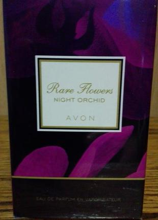Парфумна вода avon rare flowers night orchid2 фото