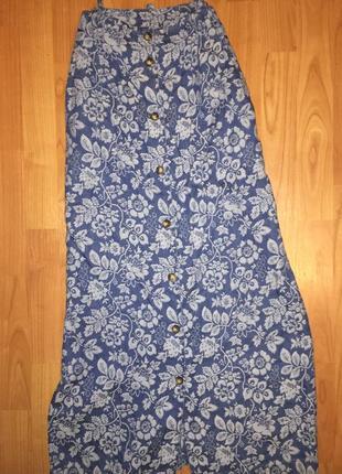 Винтажная юбка макси на пуговицах orvis1