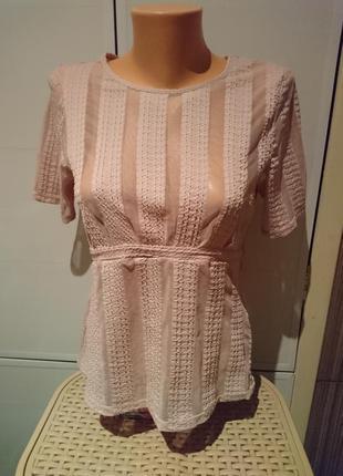 Нюдовая блузочка, футболочка h&m2