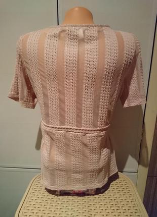 Нюдовая блузочка, футболочка h&m3