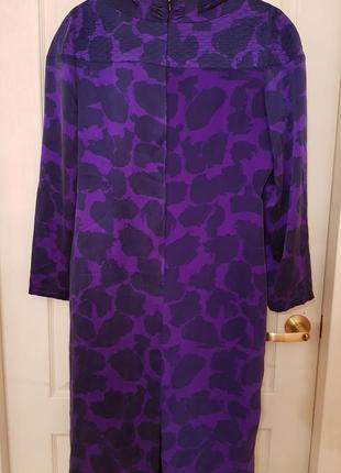 Германия! роскошное винтажное шелковое дизайнерское платье louis feraud4