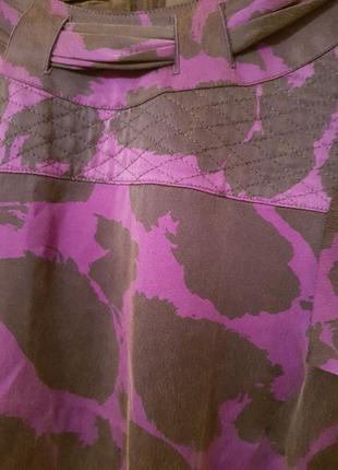 Германия! роскошное винтажное шелковое дизайнерское платье louis feraud6