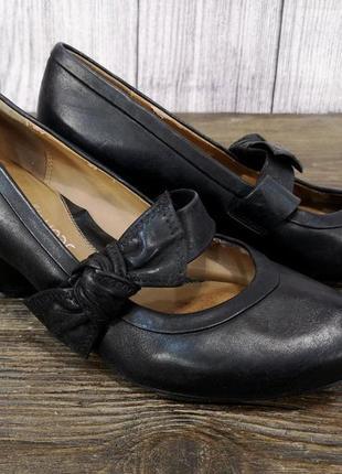 Туфли стильные clarks, качественные2