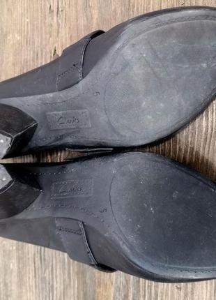 Туфли стильные clarks, качественные4
